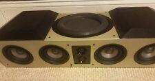 Earthquake plantine noiree center channel speaker