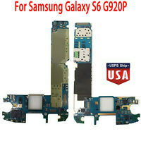 USA Unlocked Main Motherboard Logic Board for Samsung Galaxy S6 G920P 32GB