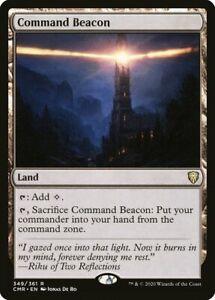COMMAND BEACON - Commander Legends MTG Land Rare Card - Magic the Gathering