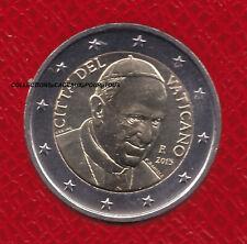 VATICAN 2015 - 2 Euro en qualité BU - Pape FRANCOIS - Sous capsule numismatique
