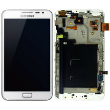 Ecran Vitre + lcd sur Châssis pour Samsung Galaxy Note N7000 Blanc ORGINAL