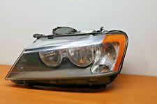 2011 2012 2013 2014 BMW X3 Left Driver Side Headlight Halogen OEM