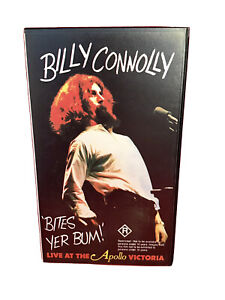 Billy Connolly Bites Yer Bum VHS  Retro Vintage Video Cassette 1981