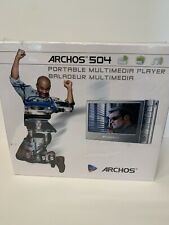 New and Sealed - Archos 504 40 Gb Portable Multi Media Player