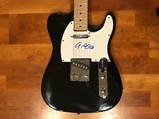 * GIORGIO MORODER * signed autographed electric guitar * GODFATHER OF DISCO * 1
