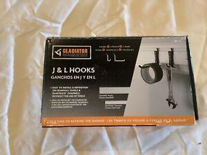 Gladiator J & L Garage Hooks Pack of 8