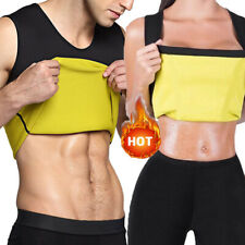 Men's Neoprene Slimming Vest Cami Gym Women Hot Body Sauna Sweat Thermal Shaper