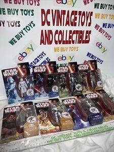 "Lot Of 8 Hasbro Star Wars The Force Awakens Combine 3.75"" Action Figures  Vader"