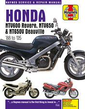 Honda Ntv600 Revere Nt400 650 Deauville Haynes Manual 3243