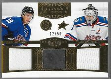 13/14 Dominion Rookie Showcase Jersey Puck Smith Campbell /50 Bruins Stars