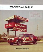 Alfasud Trofeo Alfa Romeo Book Cooper Racing Sprint Ti Europa