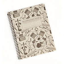 Plugged In Decomposition Notebook 100% Recycled, Electric Guitars Amps, USA Made