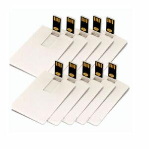 128GB USB Stick Flash Drive pendrive Credit Card Flash Memory stick lot 1MB