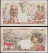 100 FRANCS 1947-1949 FRANCE OUTRE MER / MARTINIQUE - p31