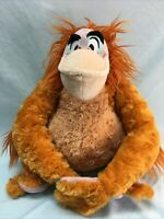 "Disney Store Jungle Book KING LOUIE ORANGUTAN 12"" Plush Stuffed Animal (13)"