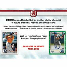 2020 BOWMAN BASEBALL Blaster Box (6 Packs/12 Cards) - JASSON DOMINGUEZ