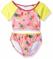 Jantzen Little Girls Chiquita Fruit Print Rashgaurd Set, Fruit/Flower Print, 16