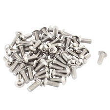 M5x12mm Stainless Steel Hex Socket Button Head Screws 50 Pcs