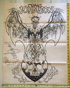 Zorlac Craig Johnson Signed Skateboard Poster Pushead Gibson TX