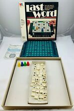 1985 Last Word Upwords Game by Milton Bradley Complete in Very Good Condition
