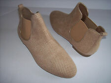 New GAP LIGHT TAN PERFORATED SUMMER ANKLE BOOTS US SZ 10M