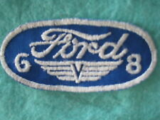 "Vintage Ford 6 - 8 Engine Patch 4 3/8 ""X 2"""