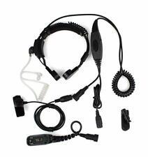 THROAT MIC W/ DOUBLE PTT FOR MOTOROLA DP3400 DP3401 XiRP8200  XiRP8208 XiRP8260