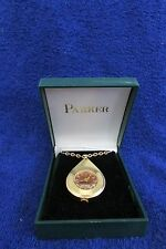 Vintage Parker Gold Tone Teardrop Shaped Pendant Watch Brand New in Original Box