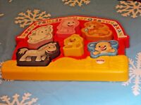 Laugh Learn Animal Farm ABC Puzzle Songs Sounds Learning Fisher Price 2014