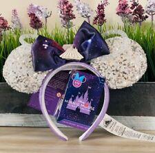Disney 2020 Minnie Mouse The Main Attraction Space Mountain January Ear Headband