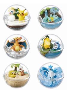 Pokemon Terrarium Collection 2 Pokeball Full Set by Re-ment