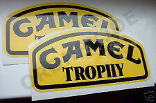 2x CAMEL TROPHY sticker / decal-Land Rover 4x4 Off road
