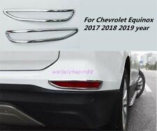 For Chevrolet Equinox 2017-2019 Chrome Rear Tail Fog Light Lamp Frame Cover Trim