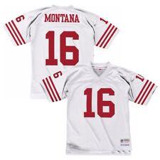 4632f0df7 San Francisco 49ers Joe Montana White Mitchell   Ness Throwback Jersey XXL
