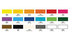 DEKA TRANSAPRENT colore trasparente per vetro 20 ml Arancio 0210 1 pz.