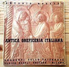 1936 Antique Goldsmith Book Antica Oreficeria Italiana by Antonio Morassi