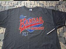 XL- Damaged / Kansas Jayhawks N/a Brand T- Shirt