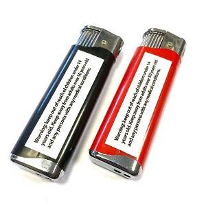 Electric Shock Lighter Practical Gadget Gag Toy Red Or Black Office Joke Prank