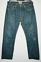 Levi Strauss 501 Vintage Standard Style Designer Men's Denim Blue Jeans W32 L32