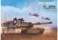 ORIGINAL PAPER-CARD MODEL KIT - ABRAMS M1A2