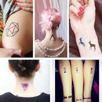 Geometric Temporary Tattoos Body Leg Arm Waterproof Flash Tattoo Stickers New