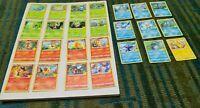 2021 McDonalds Pokemon 25th Anniversary Card Complete Set! In Hand! Non Holo