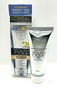 L'OREAL Youth Code BB Cream Illuminator SPF 15 in Light 2.5 fl oz