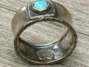 Didae Israel Sterling Silver Ring Opalescent