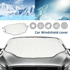 Magnetic Car Windscreen Cover AntiIce Frost Shield Snow Dust Sun Shade Protector