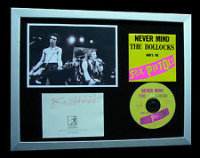 SEX PISTOLS+ROTTEN+LYDON+SIGNED+FRAMED+ANARCHY=100% GENUINE+EXPRESS GLOBAL SHIP