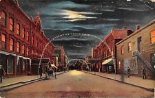 Marion Indiana~Toilet Articles~Big Bear 5c Cigars Billboard~Tailors~Lighted Arch