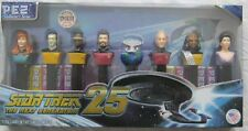Star Trek Next Generation 25th Anniversary Limited Edition Collectible Pez Set