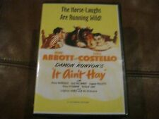 """ABBOTT AND COSTELLO IN """"IT AIN'T HAY - NOSTALGIA FAMILY VIDEO - OOP"""
