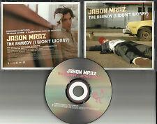 JASON MRAZ The Remedy I won't worry w/10 MINUTE VIDEO PROFILE PROMO DJ CD Single